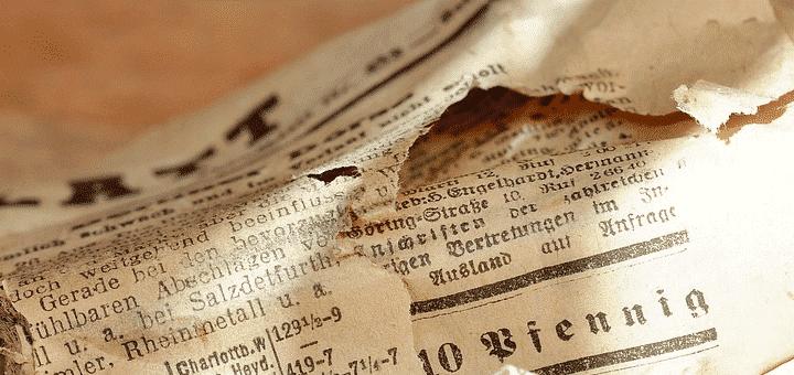 لماذا تبدأ أوراق الصحف بالاصفرار مع مرور الزمن؟ - الكيمياء العربي