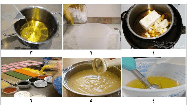 صناعة الصابون على البارد1-6
