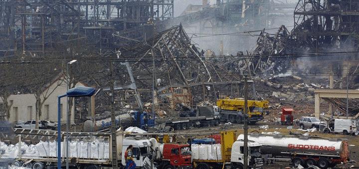 انفجار مصنع فرنسي للأسمدة … بسبب التسمية الخاطئة لإحدى المواد!