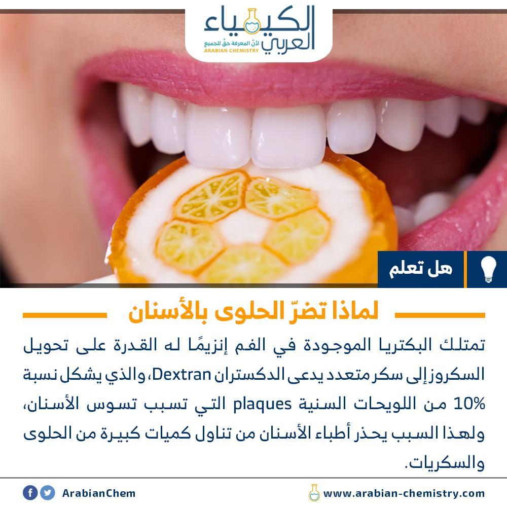 لماذا تضر الحلوى بالأسنان