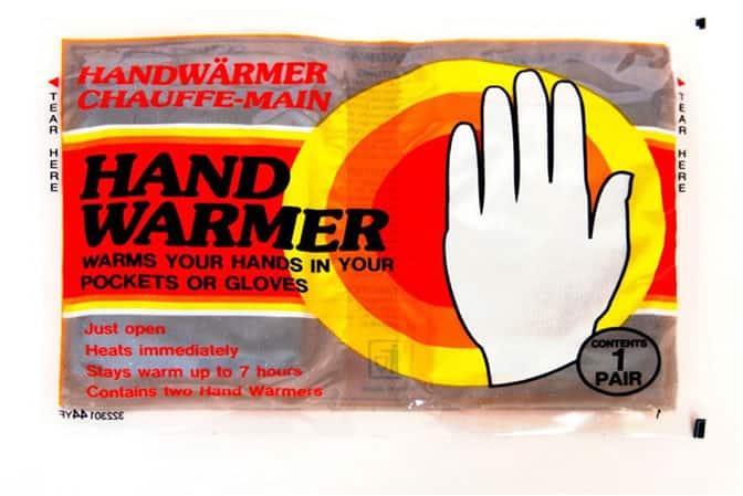 أكياس تدفئة اليدين الغير قابلة لاعادة الاستخدام (disposable hand warmers)